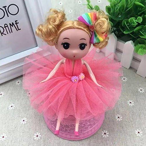 Boîte à musique pour fille, fille, fille, Poupée nuptiale boîte à musique mariage princesse tourne avec de la musique pour les filles jouet (rouge) | être Nouvelle Dans La Conception  b5e941
