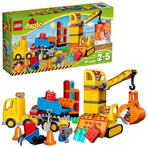 LEGO GMBH Lego Duplo Baustelle Große Baustelle 5702015599405 (Lego Duplo Bau)