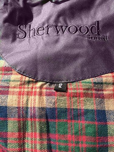 Sherwood Richmond Manteau imperméable pour femme Longueur 3/4, grande qualité Blau - Mulberry