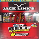 JACK LINK'S BEEF & CHEESE 6er Pack 6x 34 g Gesamt: 204 g