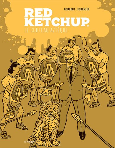 Red Ketchup, Tome 5 : Le couteau aztèque