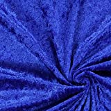 Fabulous Fabrics Pannesamt königsblau - Weicher SAMT Stoff