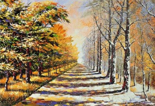 Startonight, luce nel buio Quadro su tela, autunno e inverno 40 cm x 60 cm