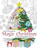 Adult Coloring Book: Magic Christmas : for Relaxation Meditation  Blessing: Volume 8 (Paperback)