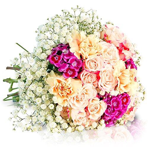 MIFLORA Blumenstrauß  Großes Glück | Entworfen von der Europameisterin