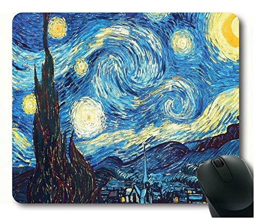 Custom célèbre Peinture rectangle Bureau Tapis de souris pour ordinateur portable Tapis de souris confortable ordinateur Tapis de souris