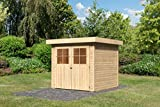 Unbekannt Karibu Gartenhaus Limburg 3 natur 19 mm