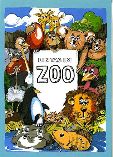 Ein Tag im Zoo. Kinderbuch. Personalisiertes Kinderbuch.