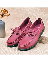 GTVERNH Old Beijing Zapatos De Tela Primavera Salvaje Semilla Semilla Zapatos Perezoso Fondo Plano Edad Media...