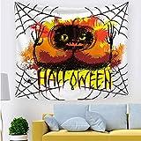 xkjymx Tapiz de Halloween 211712 200 * 150 cm de Espesor