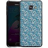 Samsung Galaxy A3 (2016) Housse Étui Protection Coque Lys Bleu Bleu