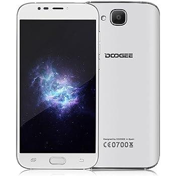 "Doogee Mobile X9 Pro 5.5"" Dual SIM 4G 2GB 16GB 3000mAh White - Smartphones (14 cm (5.5""), 16 GB, 8 MP, Android, 6.0, White)"