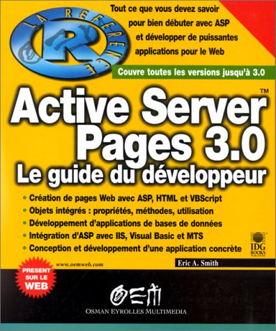 active-server-pages-3-0-le-guide-du-dveloppeur