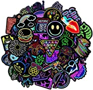 Freewalk Stickers Pack [50-Pcs], Stickers for Kids Vinyls Stickers for Laptop, Skateboard, luggage, Water Bott