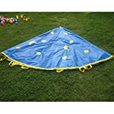 #7: Magideal 6 Feet 8 Handles Kids Parachute Outdoor Game Family Exercise Sport Toy