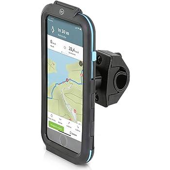 Samsung 360 Drehbar Universal Wasserdichte f/ür Smartphone L Sony iPhone Motorrad Fahrrad Handyhalterung Navi UVM GPS