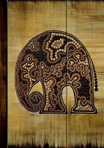 Premium Notes Big African Art Elefant 2011