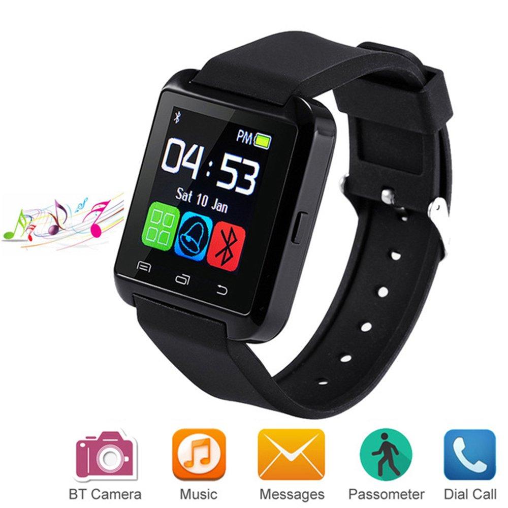 Letopro Smartwatch Bluetooth Reloj Inteligente Android iOS, Smart Watch Teléfono Inteligente De Pulsera con Pódometro… 1