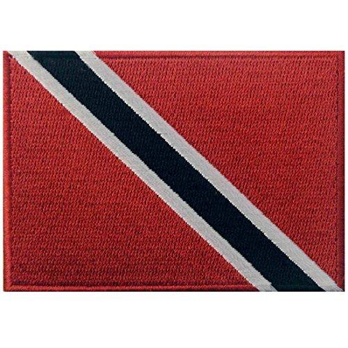 Trinidad und Tobago Flagge bestickt Patch Karibik Eisen auf Sew auf National Emblem -