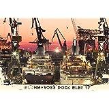 """Wandbild """"Hamburg - Dock Elbe 17"""", printed auf Leinwandprint, Fotografie, 40 x 60 cm, von unserem Kuenstler: Holger Schaper"""