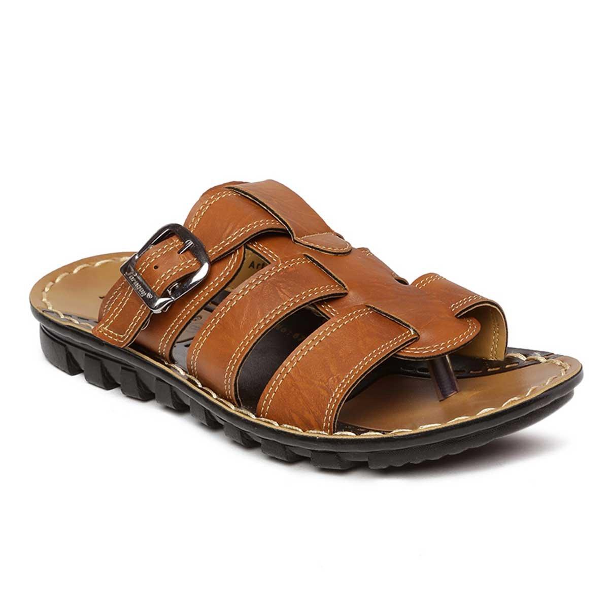3dcbfd31185 PARAGON Vertex Men s Brown Flip-Flops – Buy Bestow