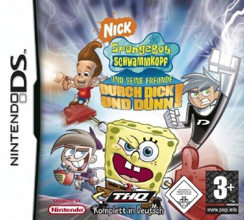 SpongeBob Schwammkopf und seine Freunde: Durch dick und dünn! [Software Pyramide] (Nintendo Ds Nickelodeon Games)