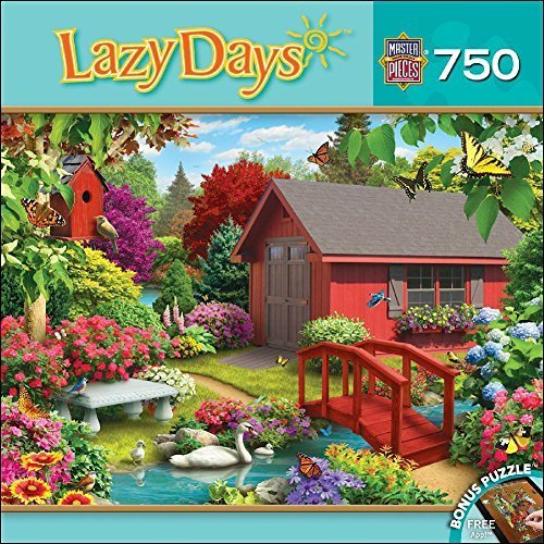 MasterPieces Lazy Days Collection Over the Bridge Puzzle (750 Piece) by MasterPieces