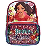 Elena Of Avalor Disney Girls Backpack & Clear Pocket Insulated Lunchbox Bag