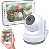 ELRO BC3000 Babyfoon Royale - met 12,7 cm Touchscreen Monitor HD- & App, 1 stuk, Wit
