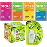 Stop-O Room Air Freshner Combo One Touch Refill along with Scented Bricks and Power Bag for Home/Bedroom/Office/Bathroom Space