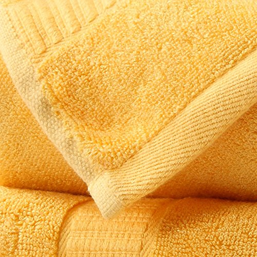 fibra di bambù asciugamani tre insiemi di spessore assorbimento acqua naturale ( Colore : 7 ) 4