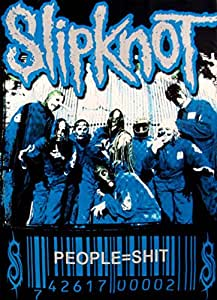 "Leinwand ""People = Shit"" von Slipknot"
