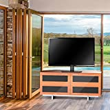Fitueyes Universal Table top Pedestal TV Stand Base with Swivel Mount for 32 to 50 inch LCD LED TVs Black height adjustable TT104501GBUK