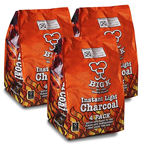 Instant Light The Bag BBQ Charcoal for Stoves BBQs Burner Comes With TCH AntiBac Pen
