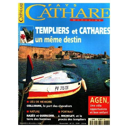 Pays cathare n° 12 / templiers zt cathares un meme destin