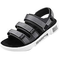 Sandali Sportivi Uomo-Scarpe estive con Fodera in Neoprene,Chiusura a Strappo in Gancio e Anello,Sandali con Velcro per…