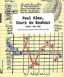 Paul Klee, cours du Bauhaus