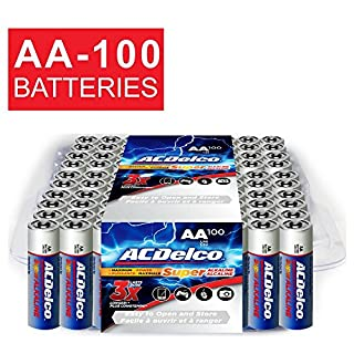 ACDelco AA Super Alkaline Batteries, 60-Count