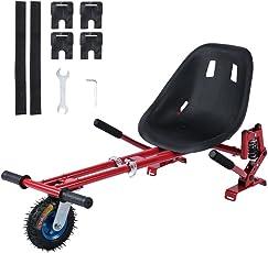 YESPER Hovercart Hoverboards Sitzscooter Kart Sitz für Elektrokart Self Balancing Scooter Kompatibel mit Allen 6,5, 8 und 10 Zoll