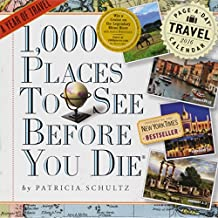 1,000 Places to See Before You Die Color 2016 Calendar