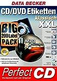 CD/DVD Etiketten klassisch XXL Big Pack