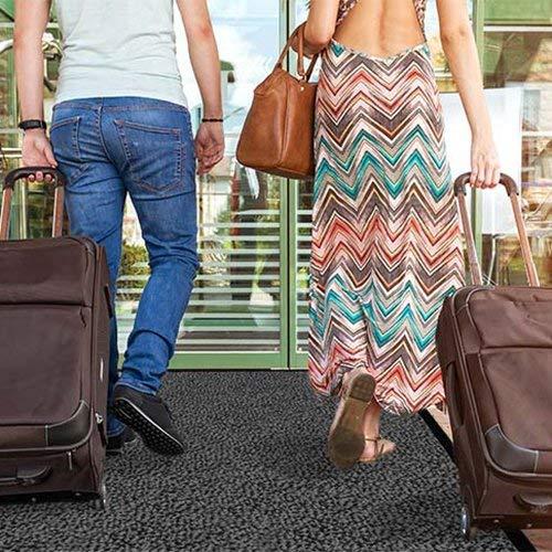 casa pura® Premium Fußmatte / Sauberlaufmatte für Eingangsbereiche   Fußabtreter mit Testnote 1,7   Schmutzfangmatte in 8 Größen als Türvorleger innen und außen   anthrazit – grau   60x90cm - 5