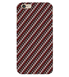 ifasho Designer Phone Back Case Cover Apple iPhone 6 Plus :: Apple iPhone 6+ ( Black and Yellow Flower Pattern Design )