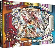 Asmodee AMAPOK03 Coffret Pokémon Soleil et Lune Exclusif - Volcanio/Magearna
