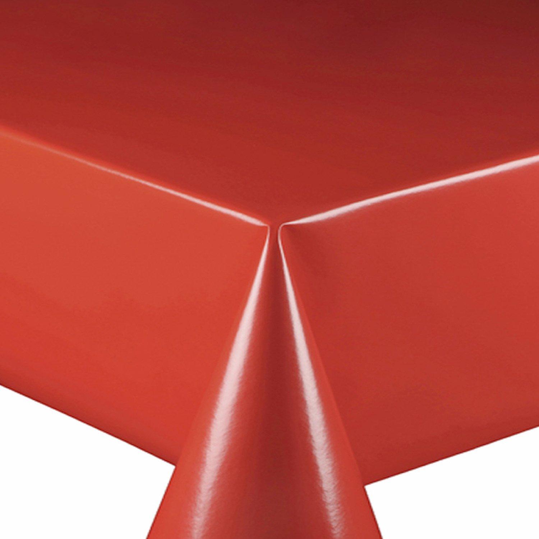 Wachstuch Breite 140 cm Länge wählbar - Glatt UNI Rot Lack - Größe ...
