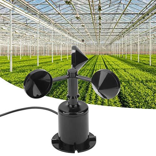 Sensor de Velocidad del Viento, Alta precisión 0-70m/s Medio Ambiente Salida de señal Tipo de Pulso...