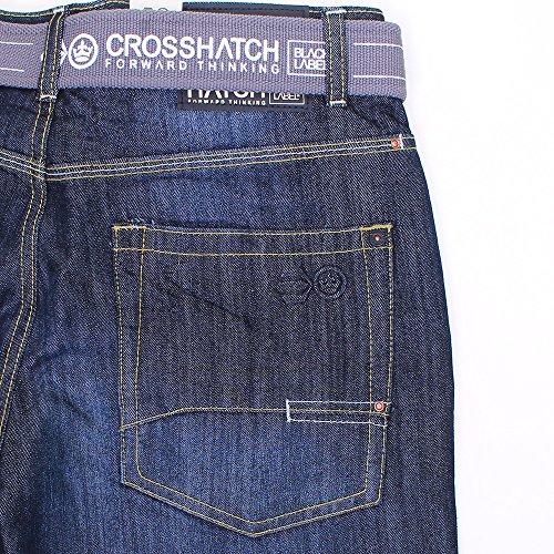 Crosshatch - Jeans - Homme Noir délavé