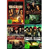 Fluch der Karibik 1. / 2. 3. / 4. (Pirates of the Caribbean) | 4-DVD