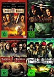 Fluch der Karibik 1. / 2. 3. / 4. (Pirates of the Caribbean) | 4-DVD