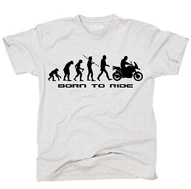 Shoppen Sie Siviwonder Unisex T Shirt SCHNABELTIER EVOLUTION Motorrad Lustig  Sprüche Auf Amazon.de:T Shirts
